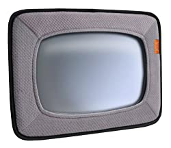 Brica Baby In-Sight Mirror, Gray (2 Pack) from Brica