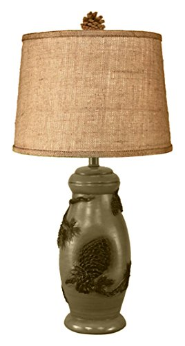 Coast Lamp Forest Pine Cone Pot Table Lamp (Pot Pinecone)