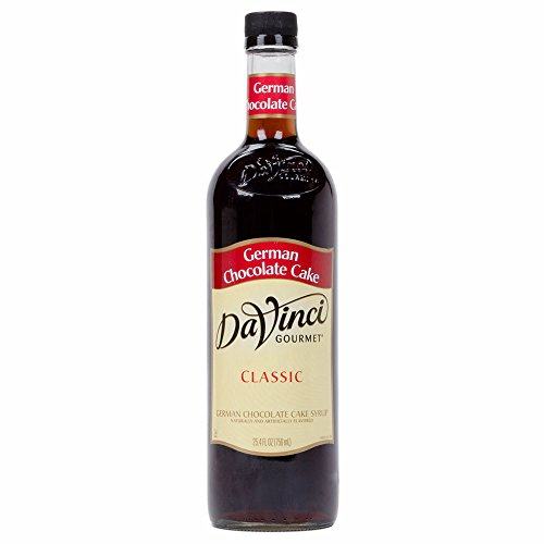 DaVinci German Chocolate Cake Syrup 750 mL ()