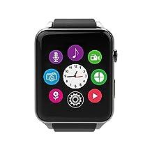 AWOW GT88 Waterproof Bluetooth Smart Watch Heart Rate Monitor Pedometer Calendar HD Touch Screen
