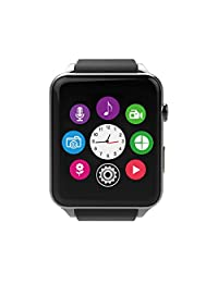 AWOW GT88 Waterproof Bluetooth Smart Watch Heart Rate Monitor Pedometer Calendar HD Touch Screen
