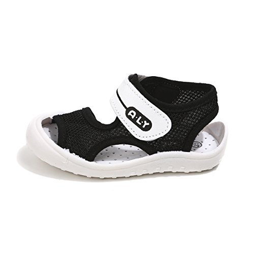 Sakuracan Boy's Girl's Summer Breathable Soft Sole Mesh Sports Sandals Open Toe Athletic Beach Shoes by Sakuracan (Image #1)