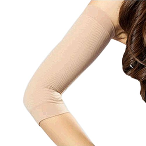 Arm shaper for women Arm Shapers For Weight Loss - 2Pcs/lot Weight Loss Calories off Slim Slimming Arm Shaper Massager Sleeve - Arm Shaper - Nude 4th July Of