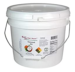 Coconut Oil - Finest Quality Food Grade - 25 lb - In Pail - approx. 3.25 Gallons