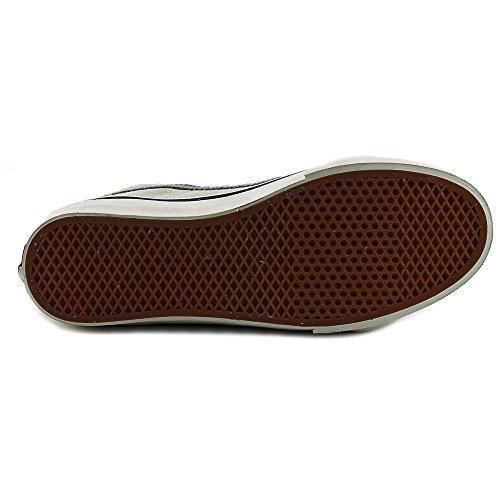 Vans Herren Sk8-Hi Slim Hight Top Lace Up Skateboard Schuhe (Vintage Wildleder) True White