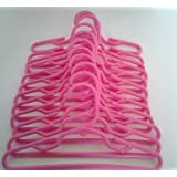 PINK HANGERS FOR AMERICAN GIRL DOLLS AND MAPLELEA DOLLS