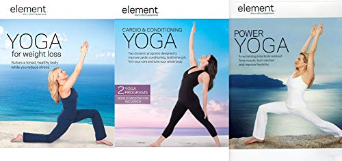 (Yoga for Beginners and Back Care Interactive Series with 14 Easy to Follow Routines 2-DVD Bundle )