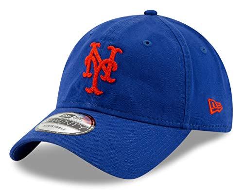 New Era New York Mets MLB 9Twenty Logo Stitcher Adjustable Hat (Mets Ny New Logo)