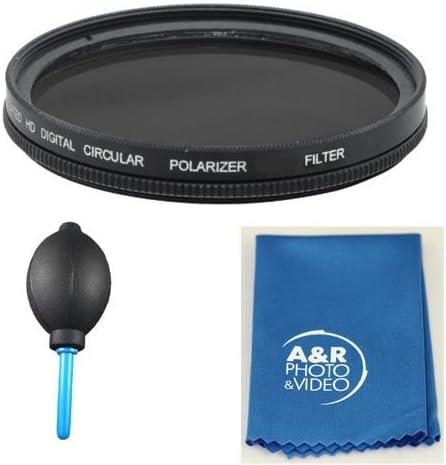 62mm Pro Series Multi-Coated High Resolution Polarized Filter for Nikon 60mm f 2.8 D 200MM F 4.0 70-300MM G Lens kit 105mm f 2.8 AF-S VR