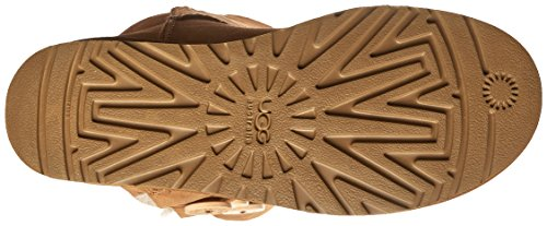 Ugg Bailey Button Triplet - Botas planas Marrón  (Chestnut)