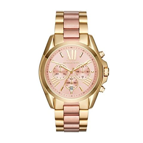 Michael Kors Women's Bradshaw Gold-Tone Watch MK6359 (Michael Kors Bradshaw Watch 43mm)
