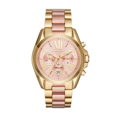 Michael Kors Women's Bradshaw Gold-Tone Watch - Michael Shop Kors For