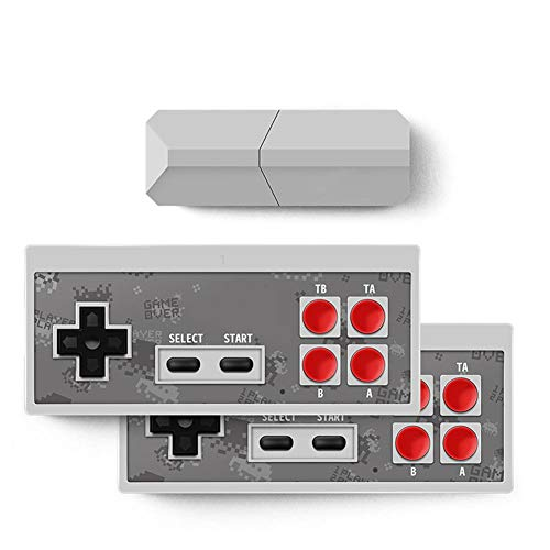Lorchwise Y2 Pro USB TV Video Game Console Classic 8-bit Mini Game Console Built-in 600 Classic Games USB Interface (Best 8 Bit Games)