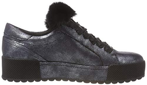 Metallic Sneakers 21 Basses Navy Bleu Femme 824 Tamaris 23726 EqCR00
