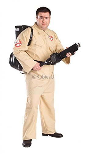 [Costume Licensed - Plus Size Ghostbuster by Pams] (Ghostbusters Plus Size Costumes)