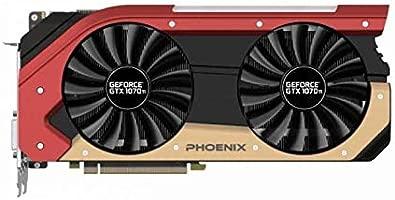 Gainward GeForce GTX 1070 Ti Phoenix - Tarjeta gráfica (PCI ...