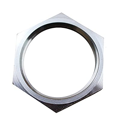 Dernord Cast Pipe Fitting Stainless Steel 304 Lock Nut 1 Inch NPSM Male