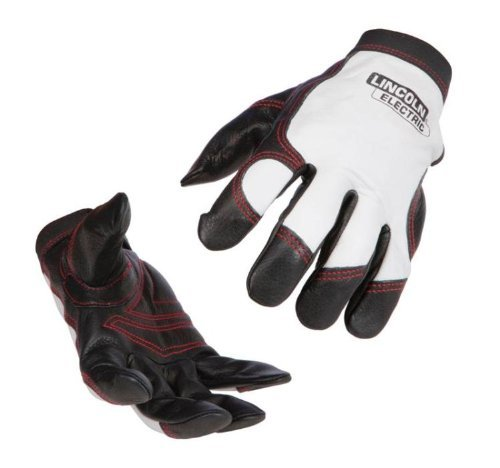 Lincoln Electric Full Grain Leather Work Gloves | Padded Palm| XL | K2977-XL