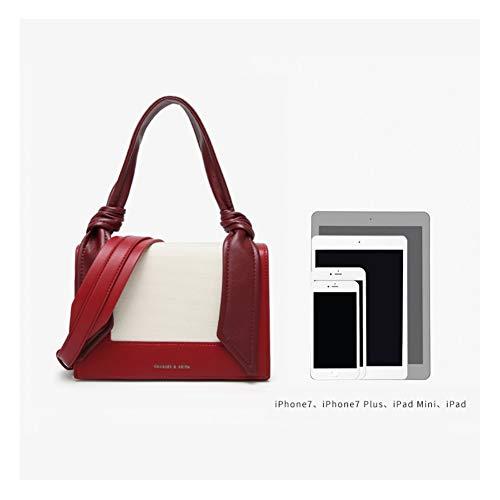 Rojo Bolso Mujeres A Cuero Leathario Hombro De Moda Para Pequeño Bandolera Ba7C6vq7