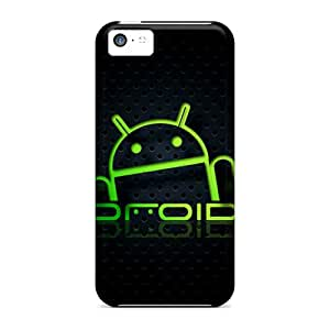 Flexible Tpu Back Case Cover For Iphone 5c - Blackydroid 2