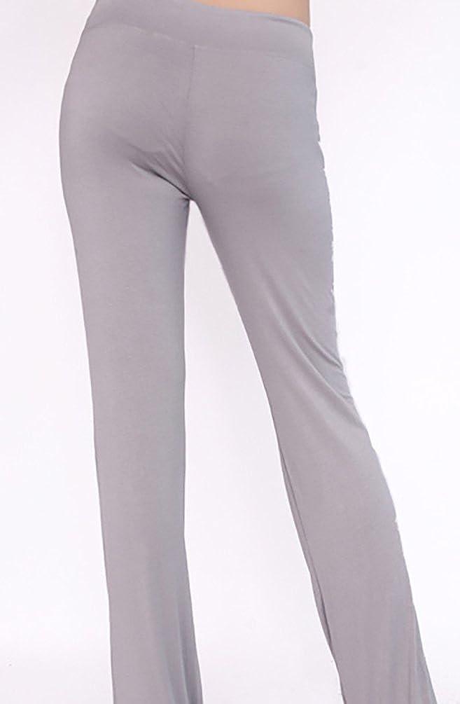 Baymate Suave Harén Pantalones Largo Gimnasio Yoga Pantalón de Mujer
