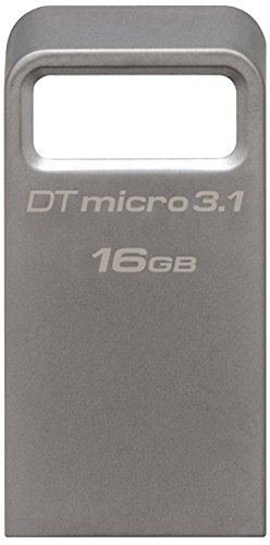 Kingston DataTraveler 16GB USB 3.1 Flash Drive Silver DTMC3/16GB