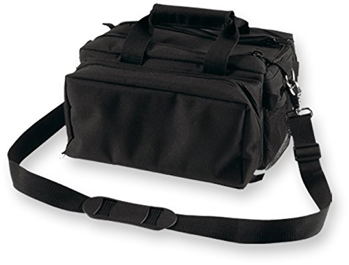 Bulldog Cases Deluxe Range Bag with Strap (Black)