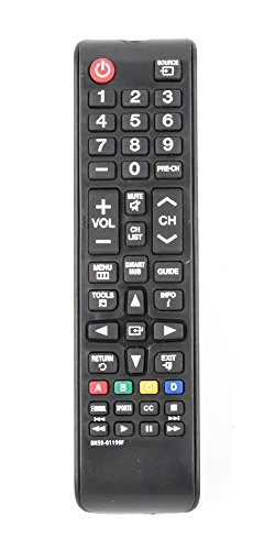 New BN59-01199F Replaced Remote Compatible with Sony TV UN32J4500AF UN43JU640DF UN48J5200AF UN50J520DAF UN65JU640 UN60J6200AF UN60J620DAF UN60JU6400F UN32J525DAF UN40J6200AF UN48J5200AF