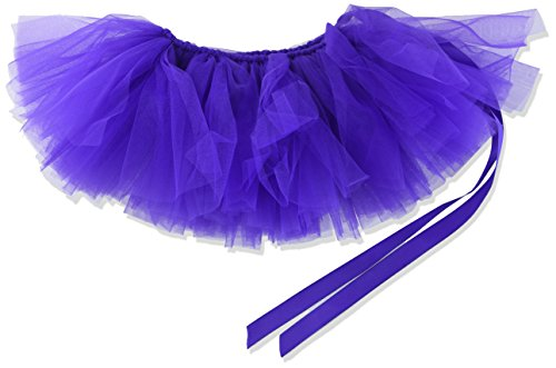Image of PAWPATU Tulle Tutu for Dogs or Cats, Large, Dark Purple