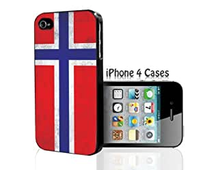 Norway Flag iPhone 4/4s case