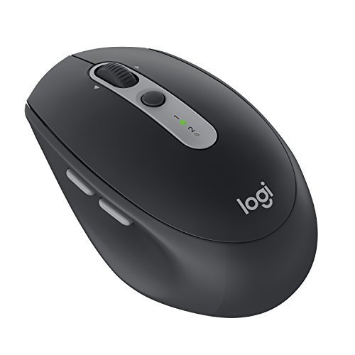 Logitech M590 Silent Wireless Mouse (Multi-Device Silent Bluetooth Mouse...