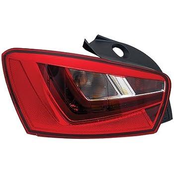 Inner Tail Light Rear Lamp VALEO Fits Left SEAT Leon Hatchback 2009-2012