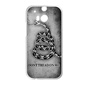 Canting_Good,Don't Tread On Me, Custom Case for HTC One M8 (Laser Technology)