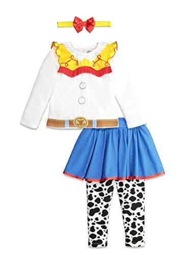 Disney Toy Story Jessie Toddler Girls Costume T-Shirt Leggings & Headband 4T - http://coolthings.us