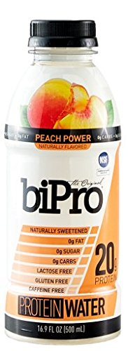 BiPro Peach Power Protein Wate (LOT SK2W20-060917)