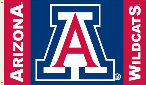 NCAA Arizona Wildcats 3-by-5 Foot Flag with Grommets
