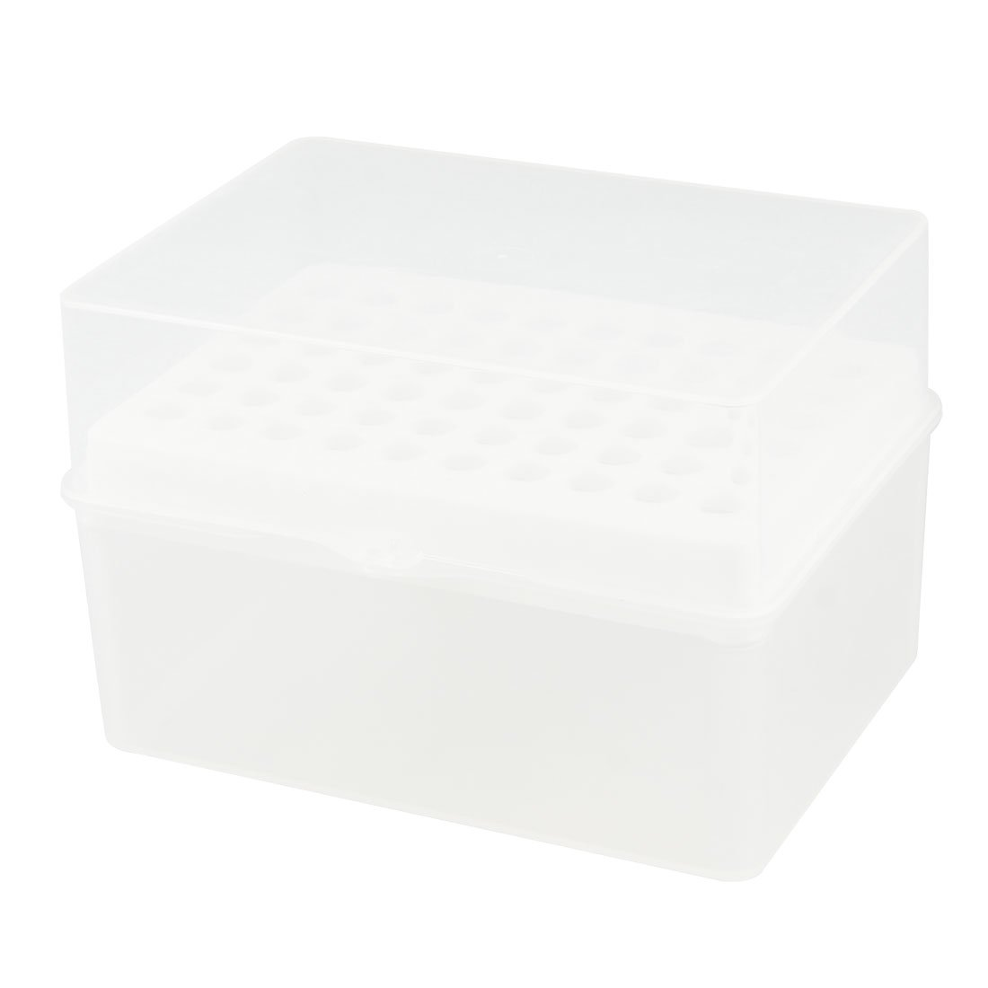 Rectangular 60 Positions Laboratory 100UL Pipette Pipettor Tip Holder Box uxcell a12102600ux0335