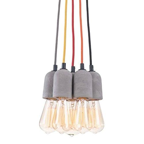 Zuo 50207 Faith Ceiling Lamp, Gray