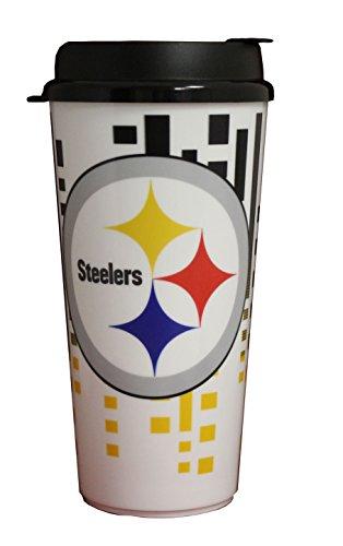 NFL Pittsburgh Steelers 32oz Single Wall Travel Mug (Pittsburgh Steelers Travel Mug)