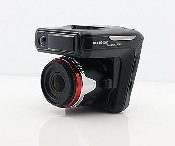 facleta LCD de 2,7 pulgadas Negro caja small-eye Radar Detector + GPS