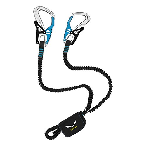 SALEWA Klettersteigset Set Via Ferrata Ergo Tex, Black/ Blue, 00-0000000957_95