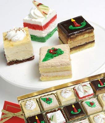 Amazon.com  Gifts , Christmas Mini Cakes  Grocery