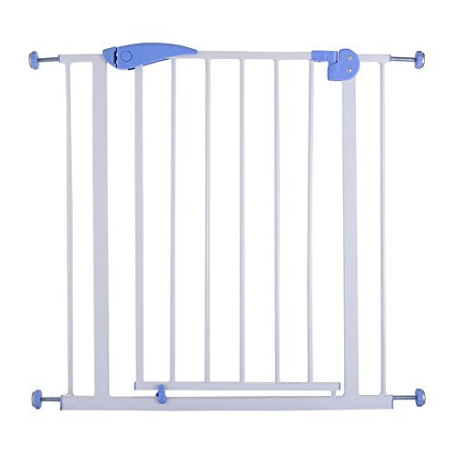 Hearth Board Hearth Pad (Baby Safety Gate Door Durability And Strength Walk Through Child Toddler Pet Metal Easy Locking System The Easy Close Handle New)