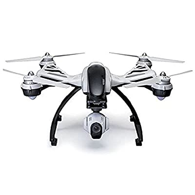 Yuneec Q500 + Typhoon Quadcopter with Aluminum Case, Handheld CGO SteadyGrip Gimbal, HD Camera. Extra Battery. Extra Propellers Included.
