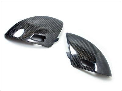 AutoTecknic Carbon Fiber Mirror Cover - BMW E60/ E61 M5 and E63/ E64 -