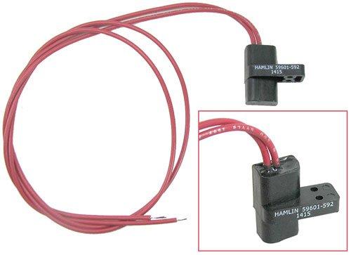 (Hamlin 59601-592 24 VDC Reed Switch Magnetic Sensor, N/O (Normally open) Pack of (2))
