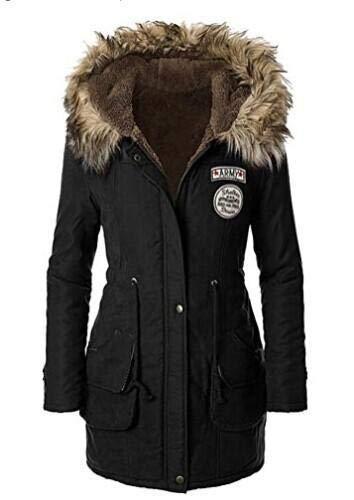 cooshional Giacca Donna Invernale Caldo Addensare Giacca Piumino con Cappotto Donna Invernali