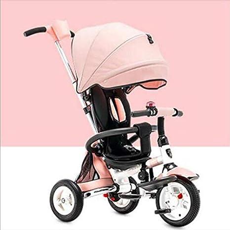Triciclo Infantil Plegable 1-6 Años Cochecito Bebé Bicicleta Bebé ...