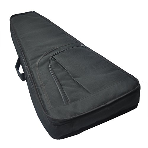 Tosnail Mini Strat Gig Bag - 10mm Padding & Shoulder Strap - Black by Tosnail (Image #2)