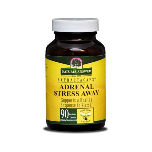 Natures Answer Adrenal Stress Away - 90 Veggie Caps - Natures Answer